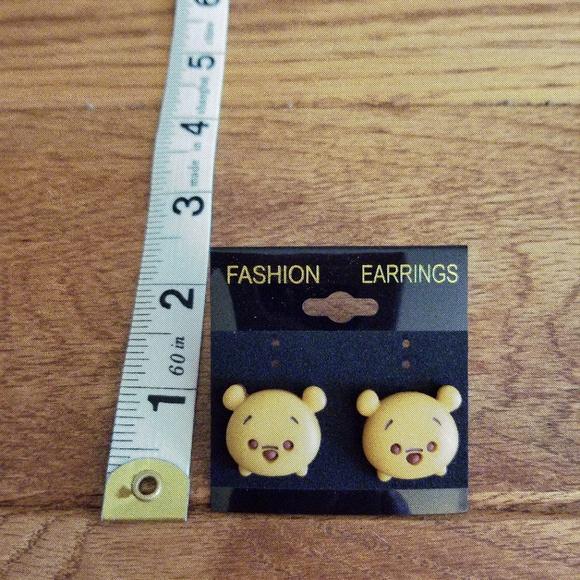 907fa5aa5 Jewelry   Tsum Tsum Winnie The Pooh 3d Earrings   Poshmark
